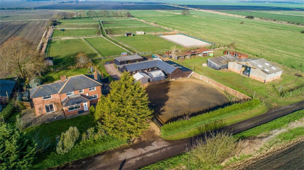 Dorrington Farm House, Wistow Fen